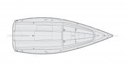 day sailer 24 interior astilleros del sur
